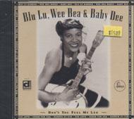 Blu Lu, Wee Bea & Baby Dee CD