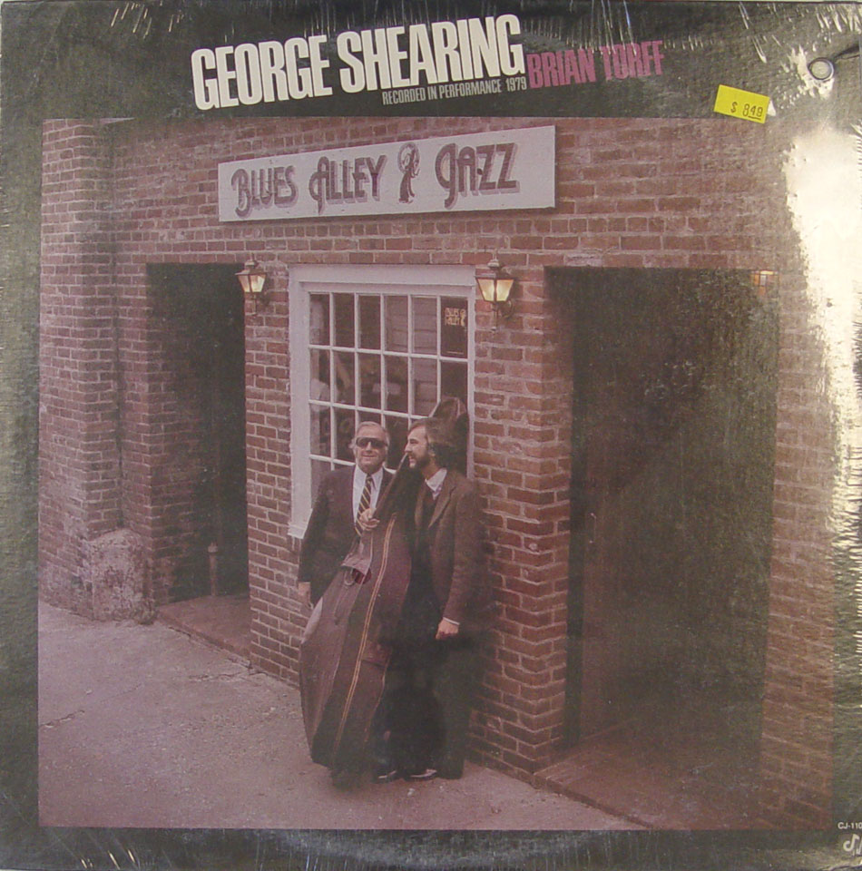 "Blue Alley Jazz Vinyl 12"" (New)"