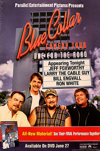 Blue Collar Comedy Tour Poster