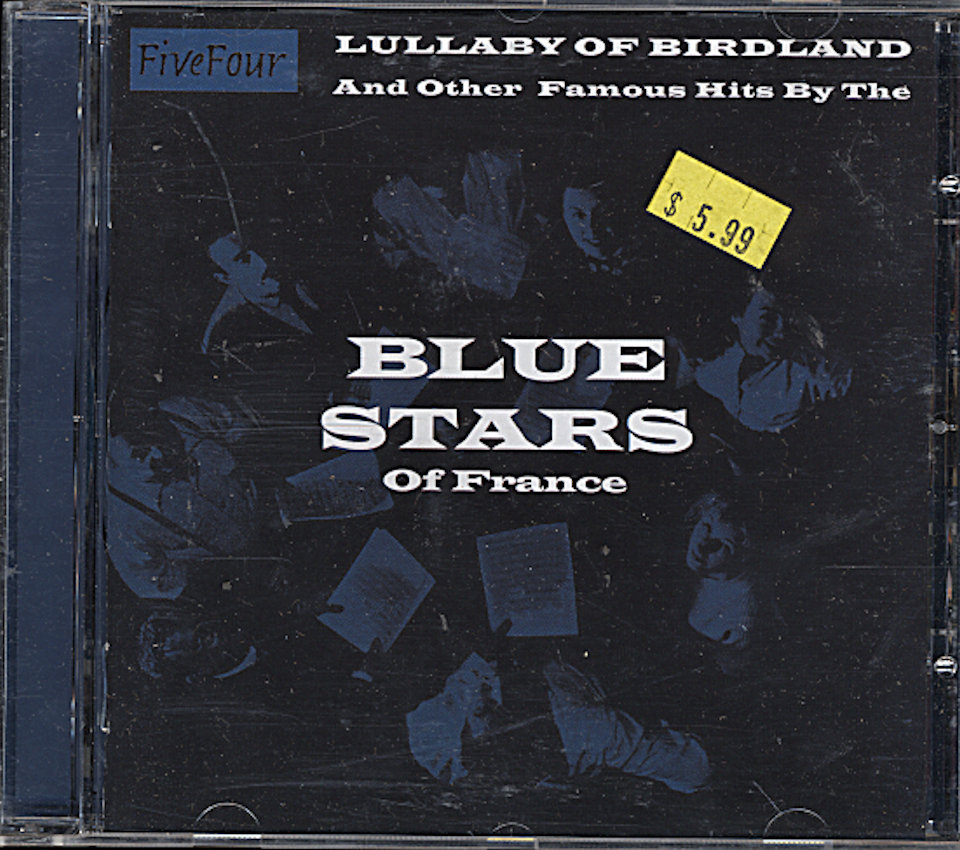 Blue Stars Lullaby of Broadway & other Famous Hits CD