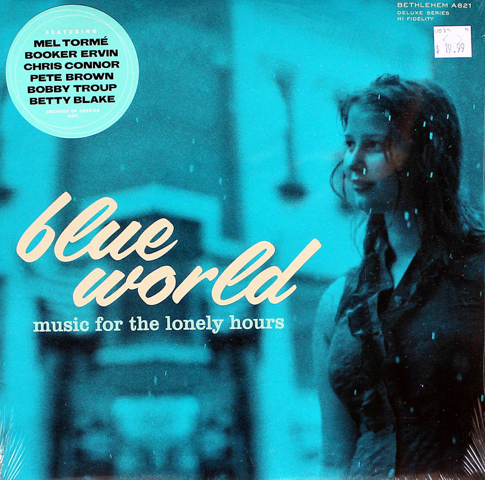 """Blue World: Music For The Lonely Hours Vinyl 10"""" (New)"""