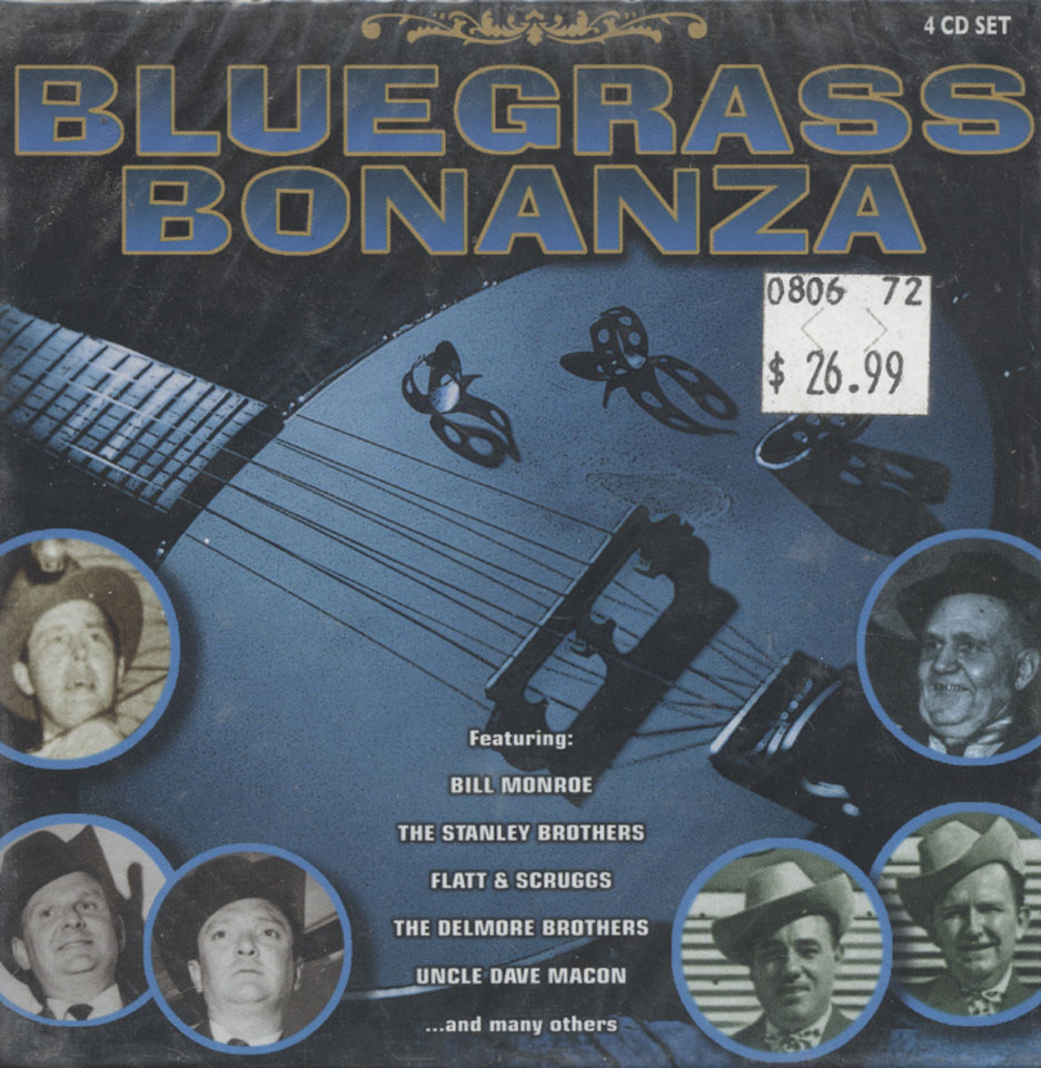 Bluegrass Bonanza CD
