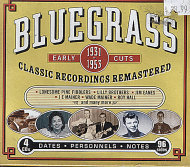 Bluegrass: Early Cuts CD