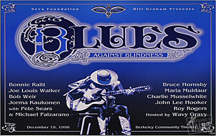 Blues Against Blindness Serigraph