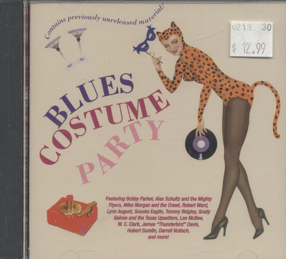 Blues Costume Party CD