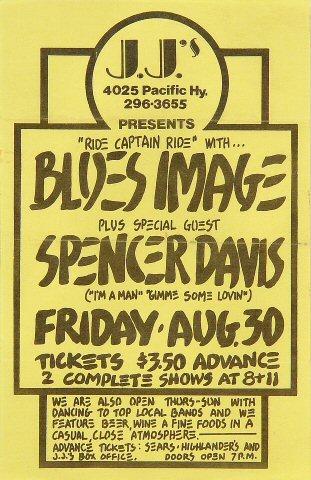 Blues Image Handbill
