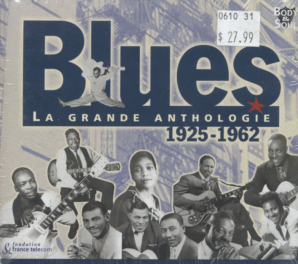 Blues La Grande Anthologie CD