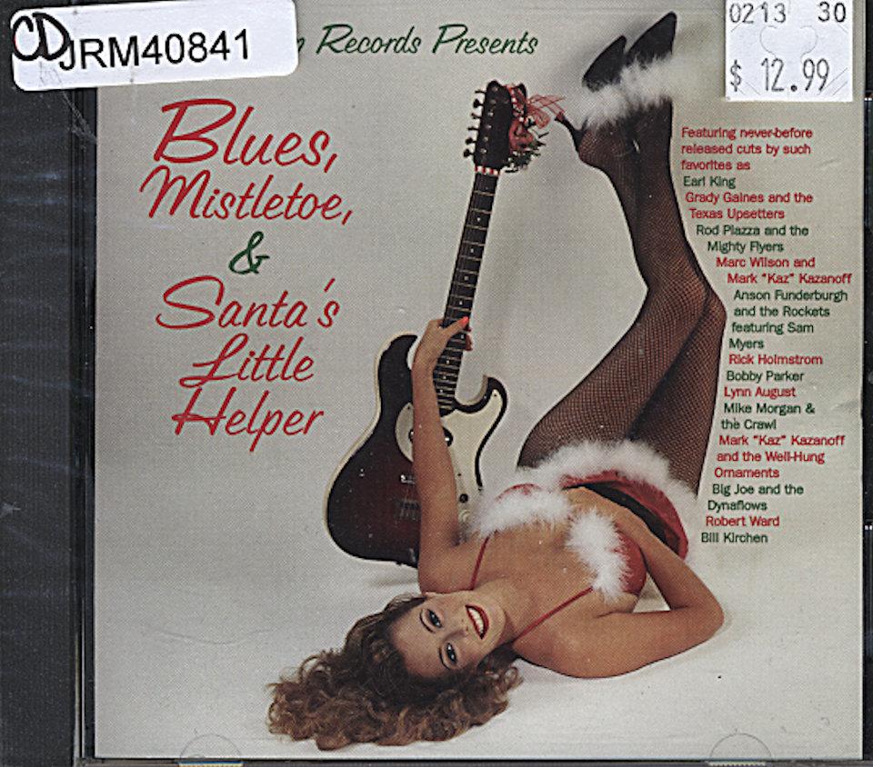 Blues, Mistletoe & Santa's Little Helper CD