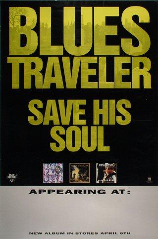 Blues Traveler Poster reverse side