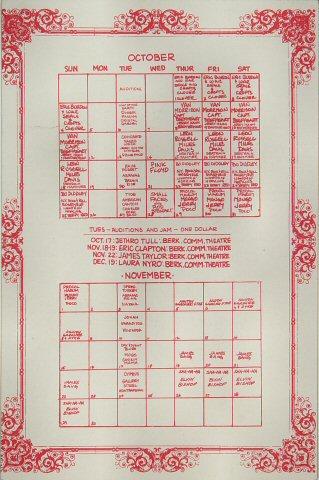 Bo Diddley Handbill reverse side