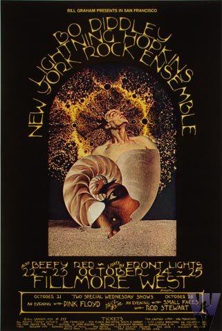 Bo Diddley Postcard