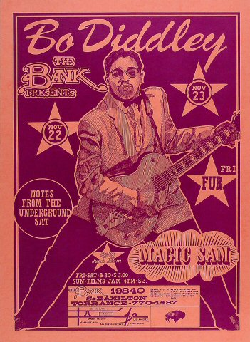 Bo Diddley Poster