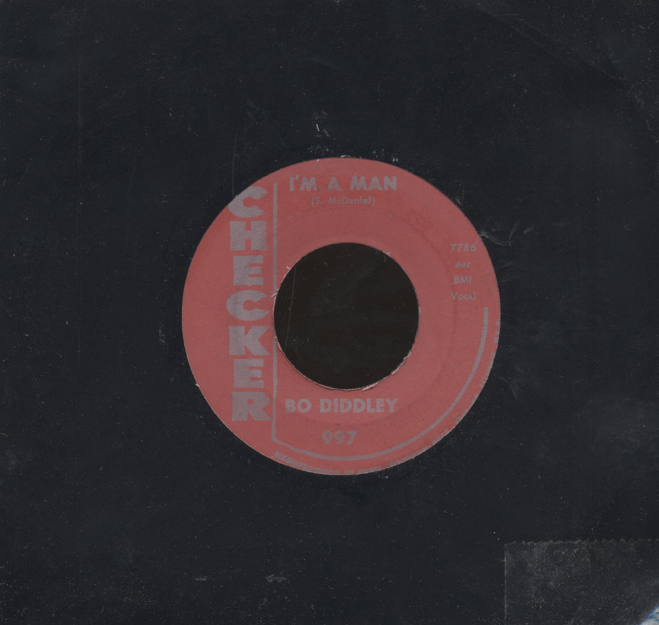 "Bo Diddley Vinyl 7"" (Used)"