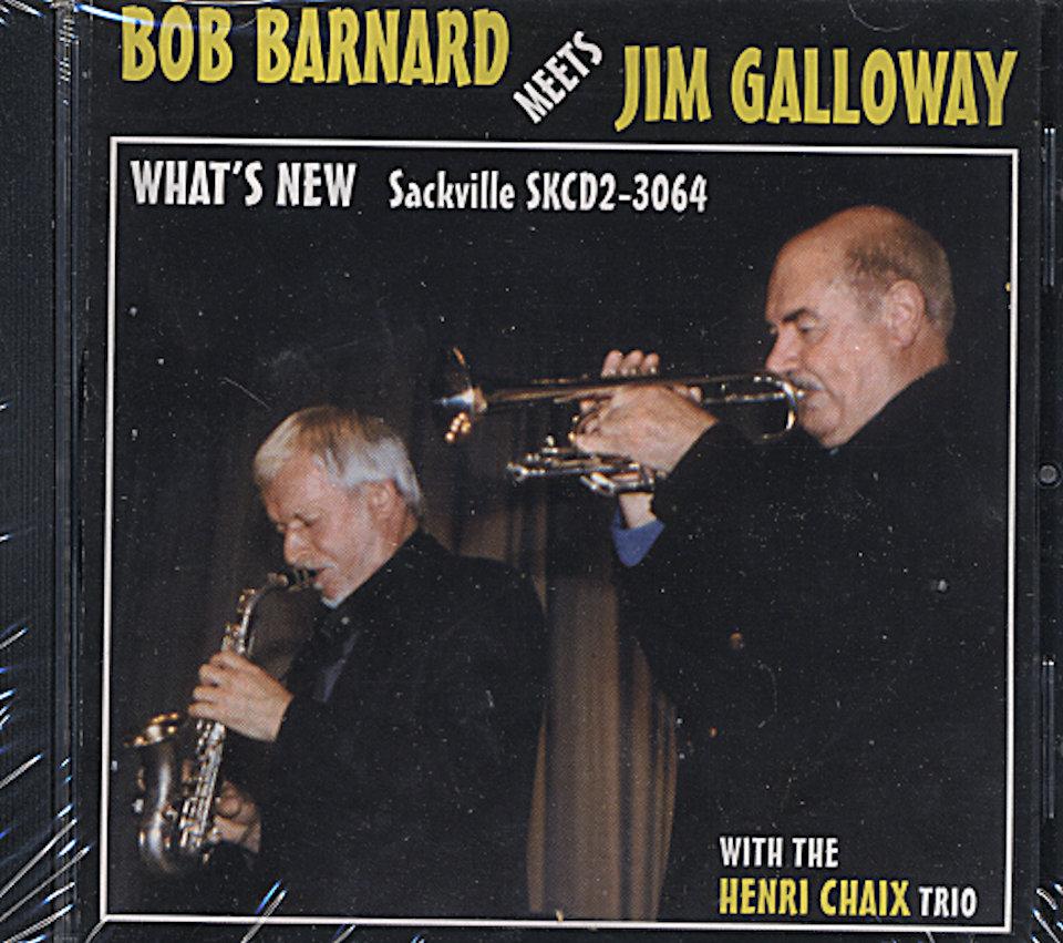 Bob Barnard & Jim Galloway CD