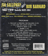 Bob Barnard / Jim Galloway CD