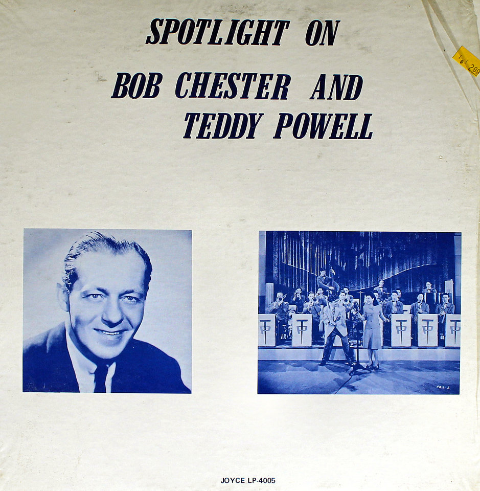 "Bob Chester And Teddy Powell Vinyl 12"" (Used)"
