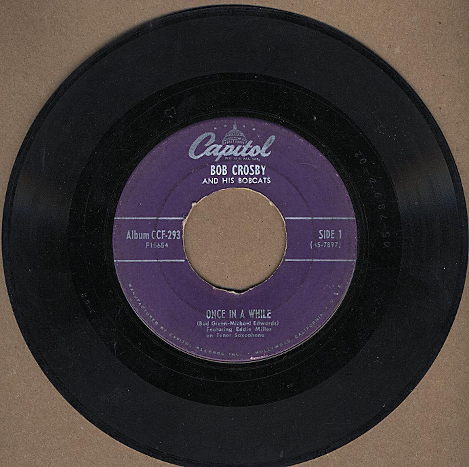 """Bob Crosby And His Bobcats Vinyl 7"""" (Used)"""