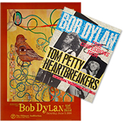 Bob Dylan Poster/Program Bundle Poster/Program Bundle