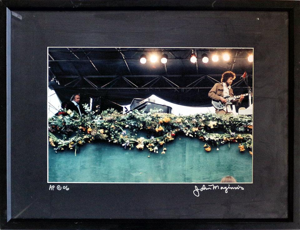 Bob Dylan Framed Vintage Print