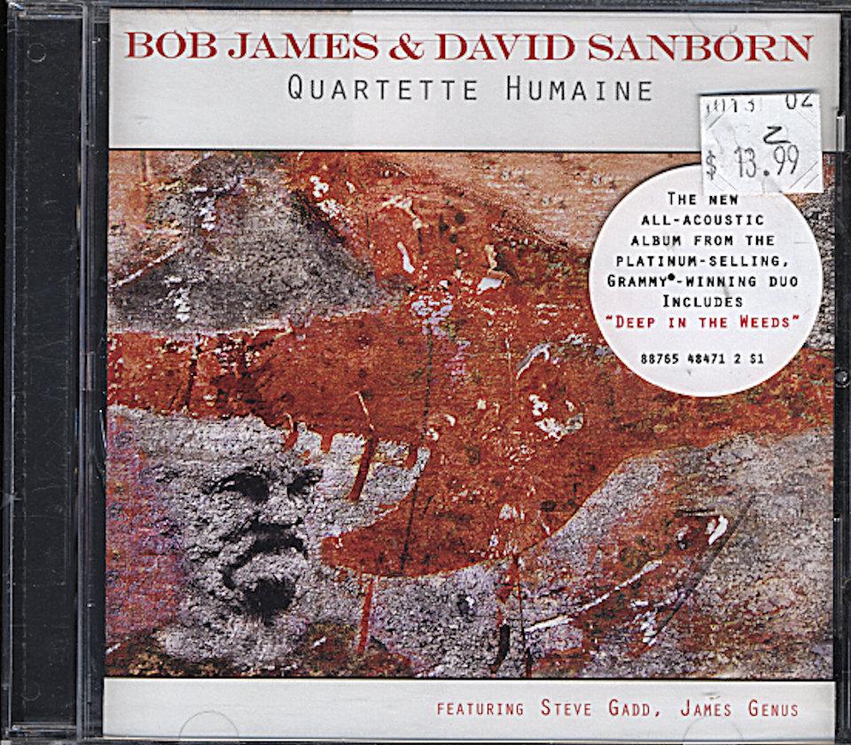 Bob James & David Sanborn CD