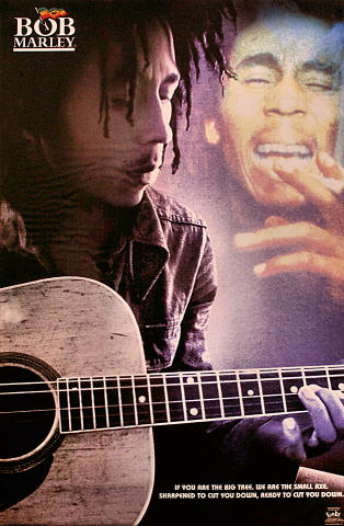 """Bob Marley """"We Are the Small Axe"""" Poster"""
