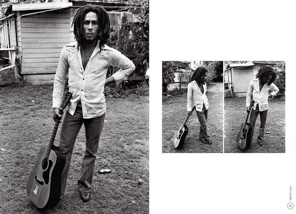 Bob Marley reverse side