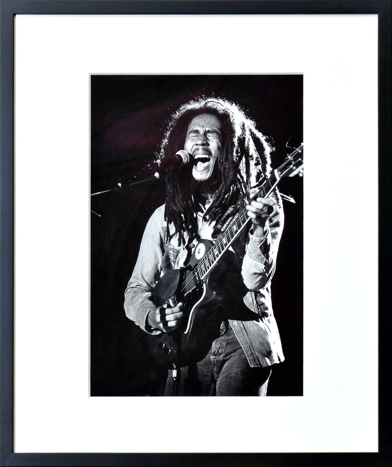 Bob Marley Framed Fine Art Print