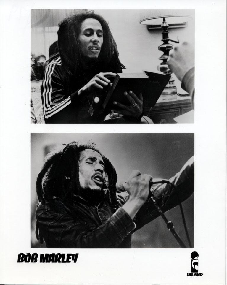 Bob Marley Promo Print