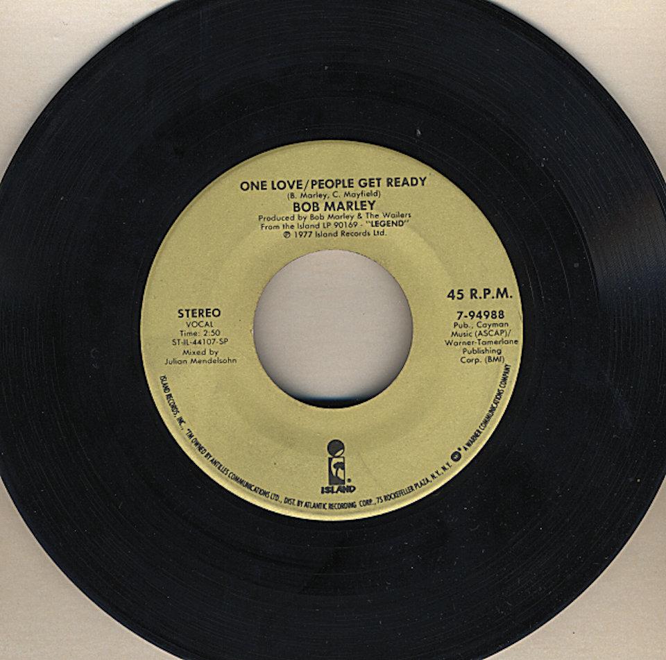 "Bob Marley Vinyl 7"" (Used)"