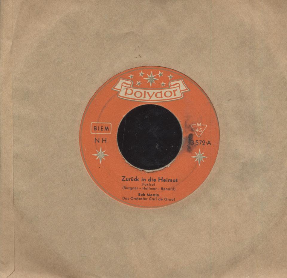 """Bob Martin Vinyl 7"""" (Used)"""