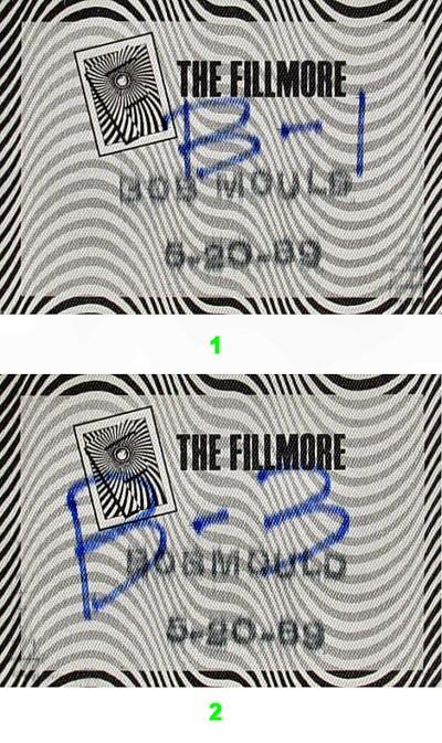 Bob Mould Backstage Pass