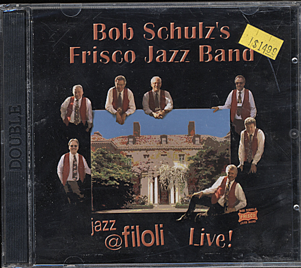 Bob Schulz and his Frisco Jazz Band CD