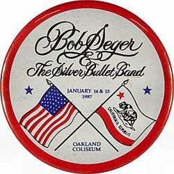Bob Seger and The Silver Bullet Band Pin