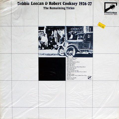 """Bobbie Leecan Vinyl 12"""" (New)"""