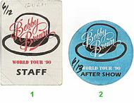 Bobby Brown Backstage Pass