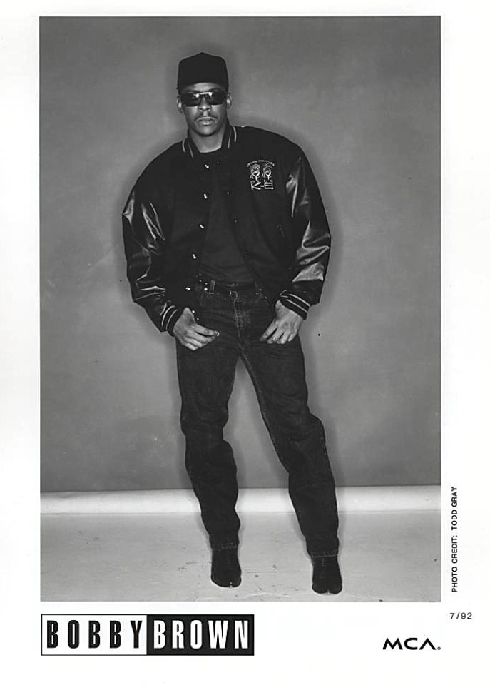 Bobby Brown Promo Print