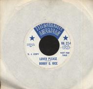 """Bobby G. Rice Vinyl 7"""" (Used)"""
