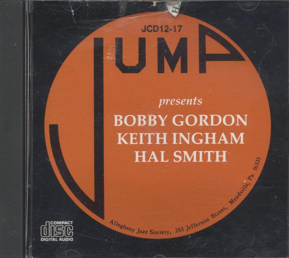 Bobby Gordon / Keith Ingham / Hal Smith CD
