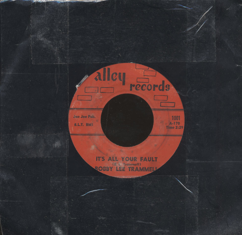 """Bobby Lee Trammell Vinyl 7"""" (Used)"""
