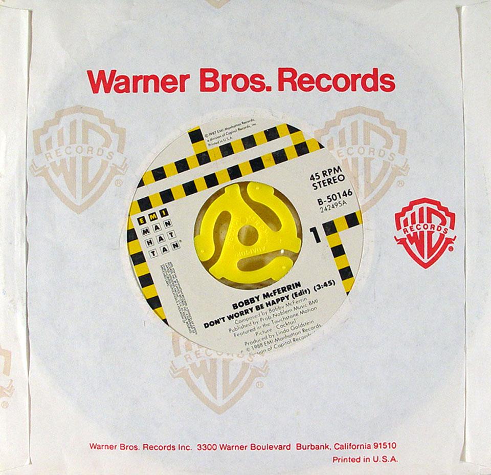 """Bobby McFerrin Vinyl 7"""" (Used)"""