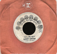 """Bobby Vinton Vinyl 7"""" (Used)"""