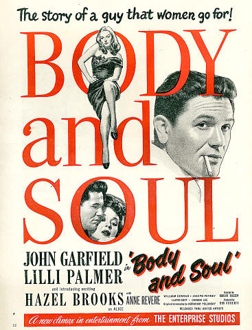 Body And Soul Vintage Ad