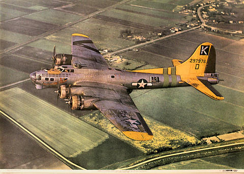 Boeing B-17G Fortress Poster