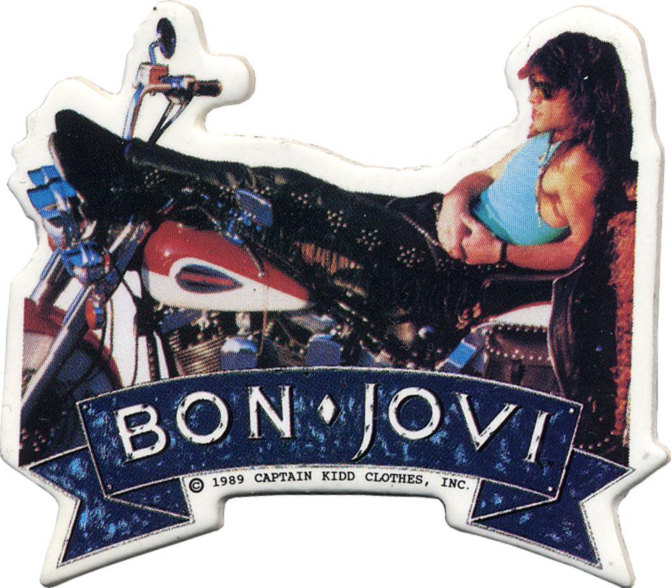 Bon Jovi Pin