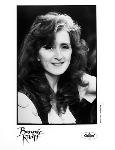 Bonnie Raitt Promo Print