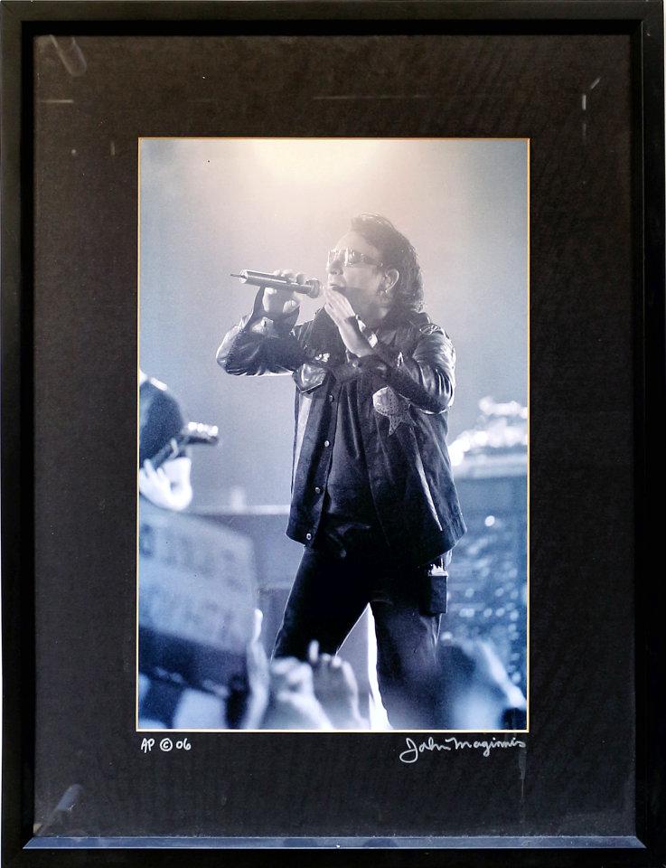 Bono Vintage Print