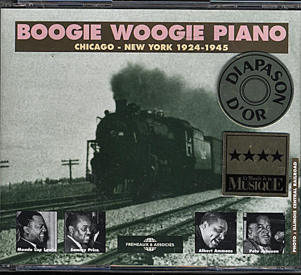 Boogie Woogie Piano CD