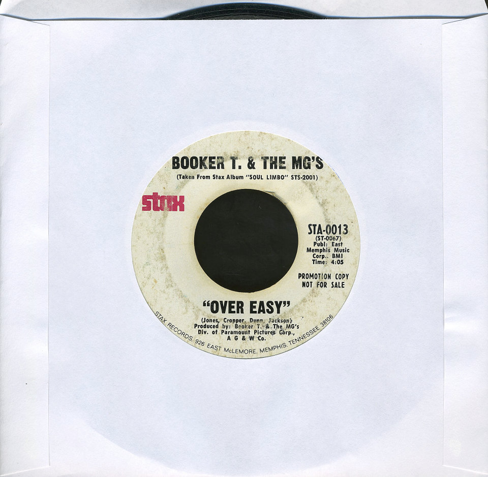 """Booker T. & the MG's Vinyl 7"""" (Used)"""