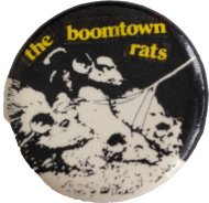 Boomtown Rats Pin