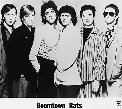 Boomtown Rats Promo Print